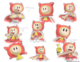 Prince Dreambert sketches by Angelstar7