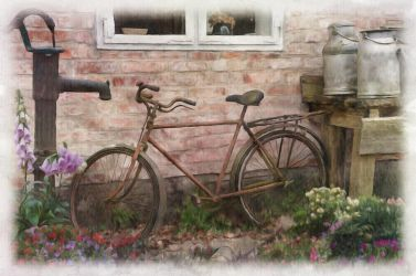Old Bike by lumpi69