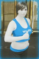 My Wii Fit Trainer cosplay by LeapingLizardCosplay
