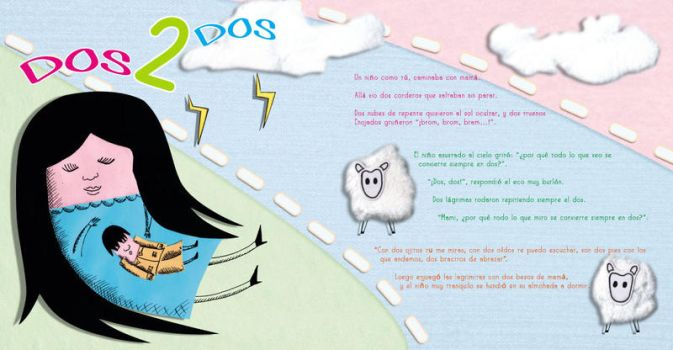 Cuento 2 Two dos by memix62