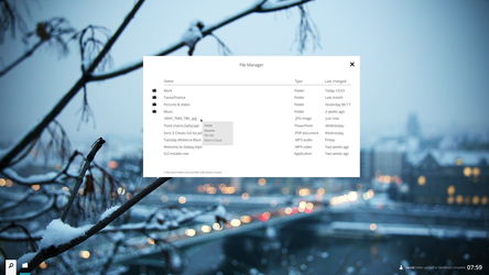 GalaxyOS: File Manager by thegbdc