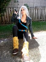 Fem Future Trunks by RiiCosplay
