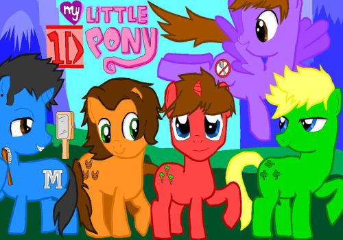 My Little One Direction Pony by OneDirectionFanJohn