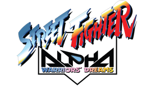 Street Fighter Alpha Vector Logo (1995) by imLeeRobson