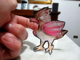 Paperchild 59. Pokemon#21 - Spearow