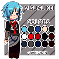 (THEME ADOPT) VISUAL KEI ADOPT by ArakiChan
