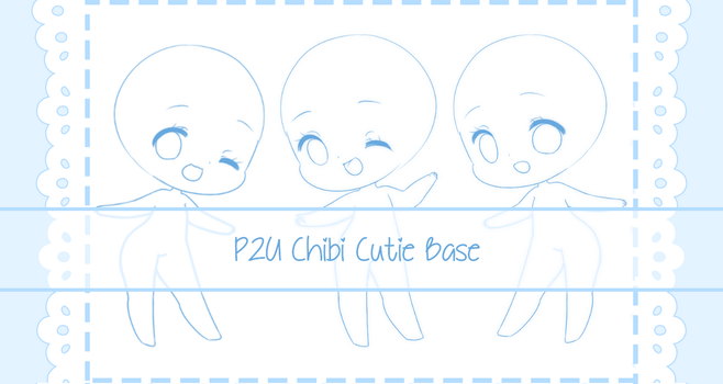 [P2U] Cute Chibi Base by Valyriana