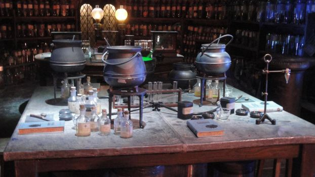 Potions Time - Harry Potter London WB Studio by lv888