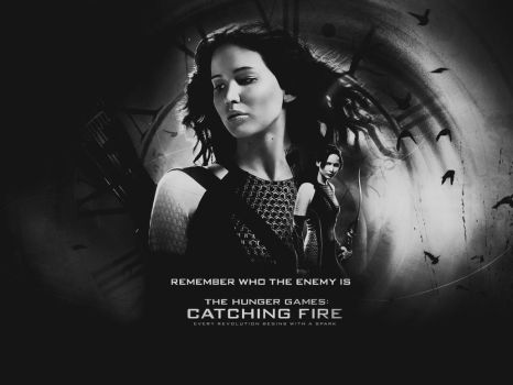 The Hunger Games: Catching Fire Wallpaper by Seia5018