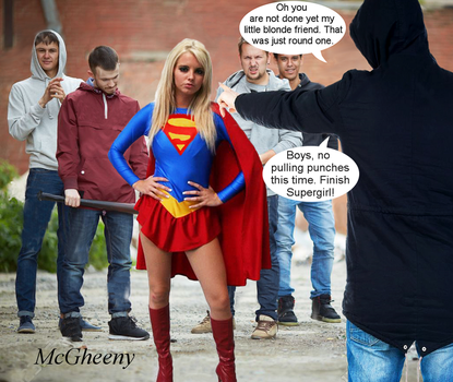 Supergirl in Impetuous Youth The Boys Club Pt 2 by McGheeny