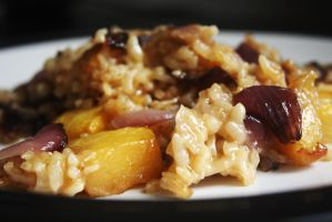 Pumpkin risotto by Itti