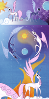 mlp:fim The Legend of Solar Flare by emeralddarkness