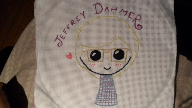 Jeffrey Dahmer Embroidery by LeeGaaFangirl