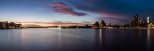 Sydney Harbour Dawn by TarJakArt