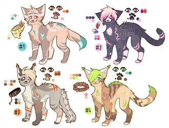 Adoptables AUCTION (POINTS) - [CLOSED] by Demillune