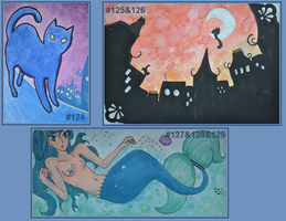 ACEO 124-129 by Unpassend