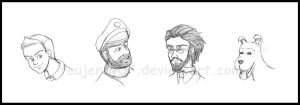 Tintin_Movie Sketches by FEuJenny07