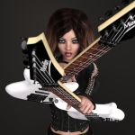 Madelyn's Guitars by CJ-3D