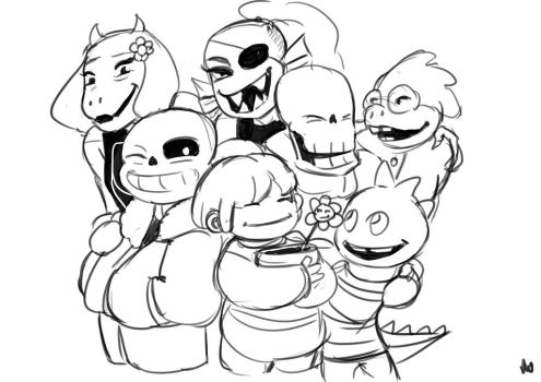 Undertale Reset - Just a doodle... by oennarts