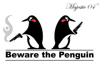 Beware the penguin by Majestic2966