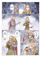 Legolas and Thranduil...as it should be! by Teodora85