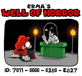 MY MARIO MAKER LEVEL- Erma's Well of Horror by OUTCASTComix