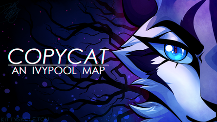 COPYCAT MAP [thumbnail contest entry + SPEEDPAINT] by kitty-skeleton