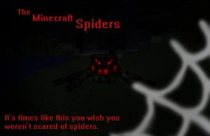The Minecraft Spiders by Roqd
