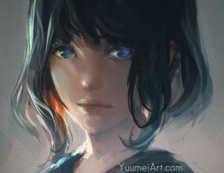 Brush Test In Photoshop by yuumei