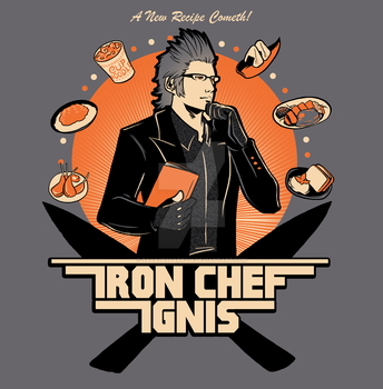 Iron Chef Ignis by savagesparrow