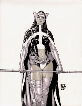 Huntress comission by PauloSiqueira