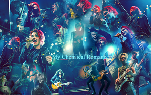 My Chem LIVE wallpaper 030 by saygreenday