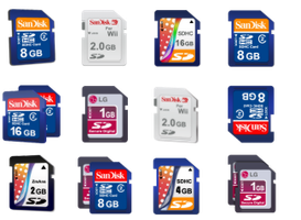 20 SD Card icons by zman3