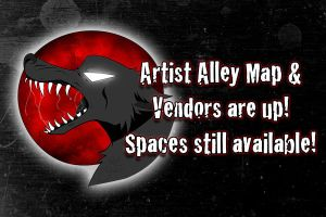 Vendors Map + Spots Open by HowloweenCanada