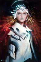 Astro Fire by rossdraws