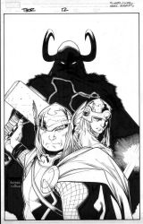 thor 12 cover by MarkMorales