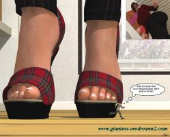 Giantess Erodreasm2 - Preview - WW Photoshrink02 by ilayhu2