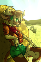 Up next - cowgirl, moo, kek by OgaraOrCynder