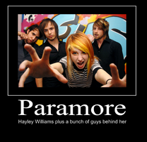 Paramore Motivational Poster by Cuz-I-Can-KThnxBye