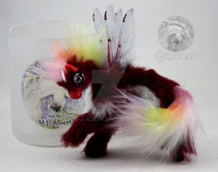 OOAK Fairy Horse Dragon Art Doll by M-J-Albert