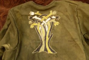 Tree Embroidery by Erianrhod