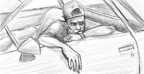 Quick Sketch #1 by TEK2yuhDOME