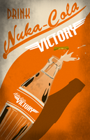 Nuka Cola Victory Advertisement by LaggyCreations