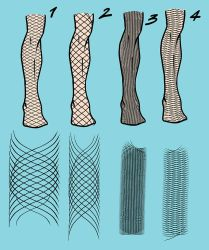 Matt's Fishnet Collection for Manga Studio 5 by toongsteno