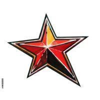 Red star by SteveGolliotVillers
