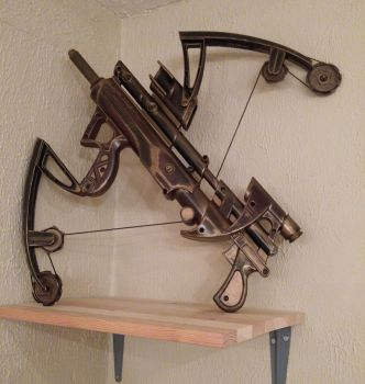 Bow Gun gone Steampunk by CinderellasMice