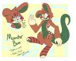 [SOLD] Monster Bun Anthro SET PRICE by royalraptors