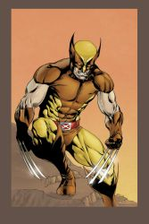 The Wolverine (Colours) by AlkalineAzel