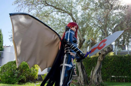 Erza Scarlet BlackWing Armor by Zulima-Cosplayer
