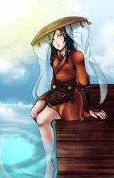 IN: The Mysterious Medicine Woman by Ribbon-Knight